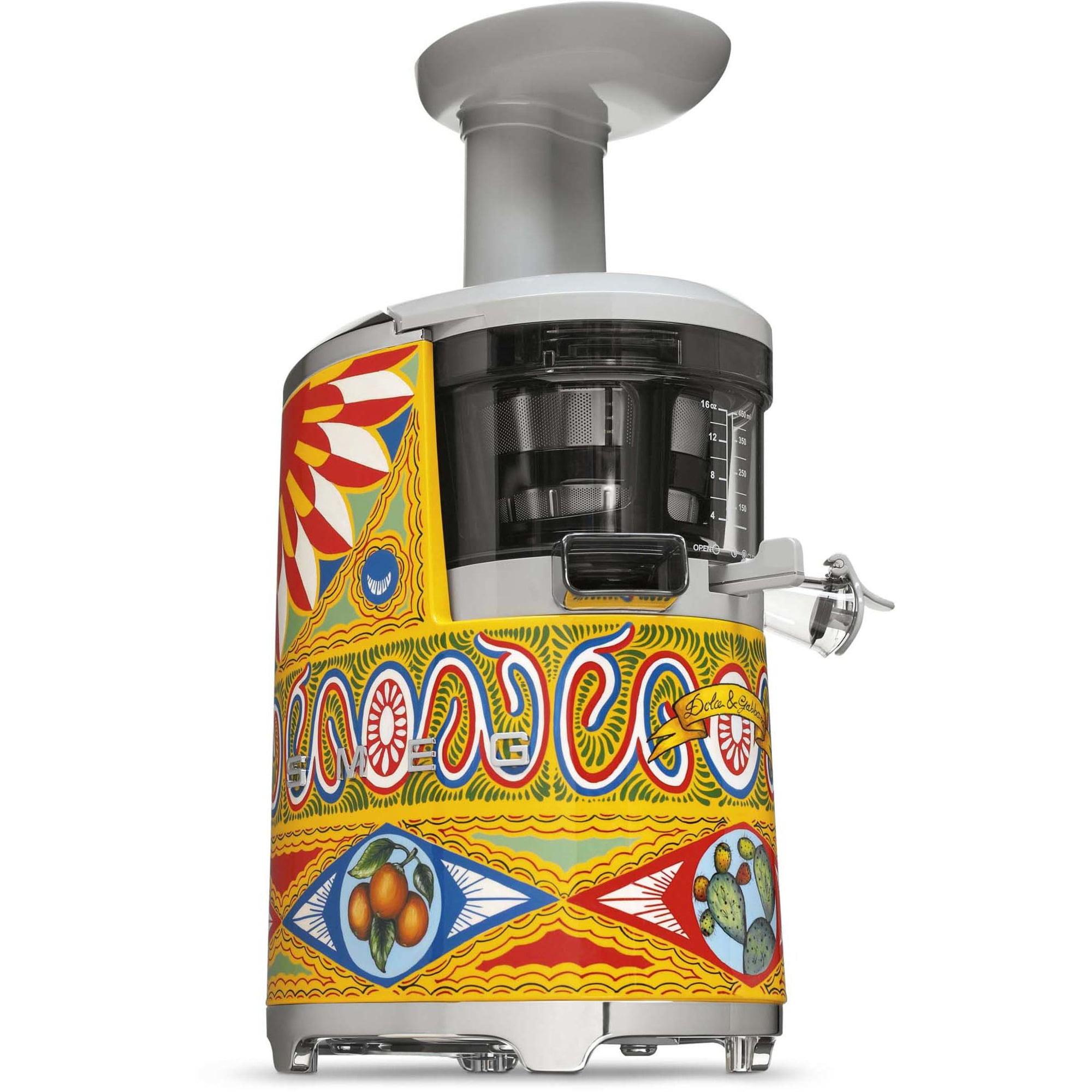 Smeg Dolce & Gabbana slowjuicer