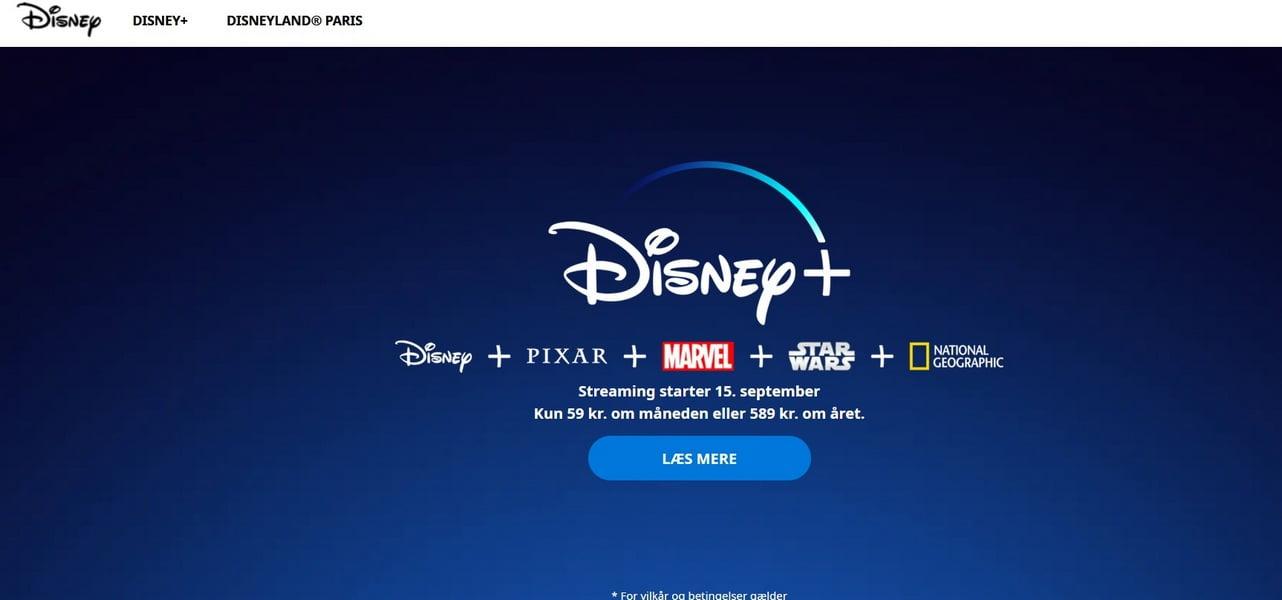 Sådan henter du film fra Disney Plus